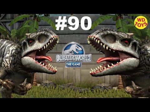 New Jurassic World The Game -  Episode 90 (Level 20) Indominus Rex Vs Gameplay Walkthrough   WD Toys