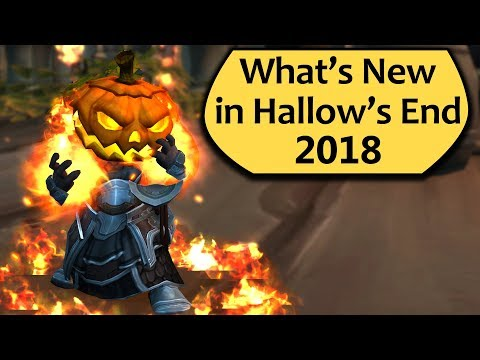 What's New in Hallow's End 2018 in WoW? New Toy!