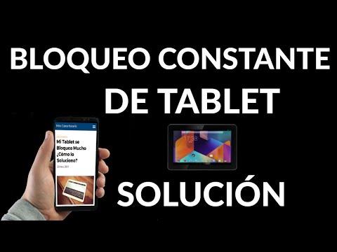 Qué Hacer con tu Tablet si se Congela | Solución