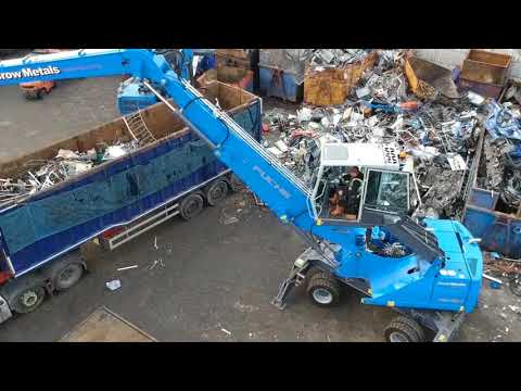 Crow Metals Purchase Their Second Terex Fuchs Material Handler