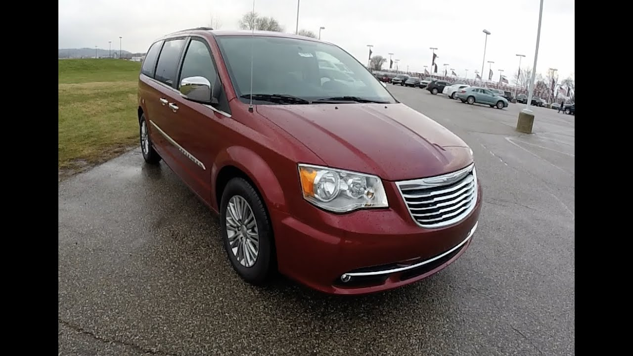 2015 Chrysler Town Country Touring L 17575 Youtube And