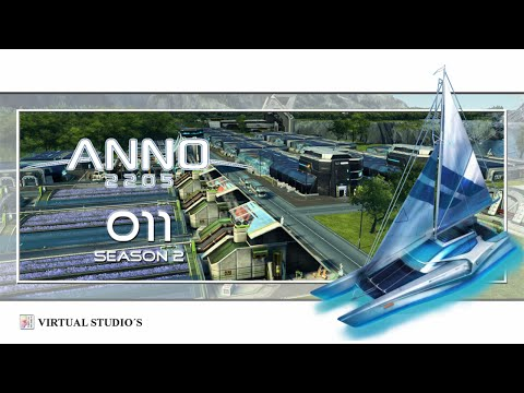 Anno 2205 Season 2 #011 - Textil Industrie [Let´s Play | German]