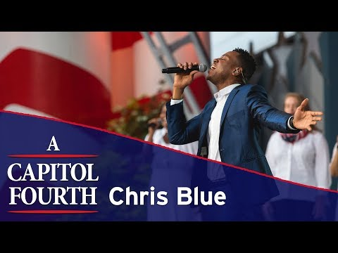 Chris Blue Performs America the Beautiful on the 2017 A Capitol Fourth