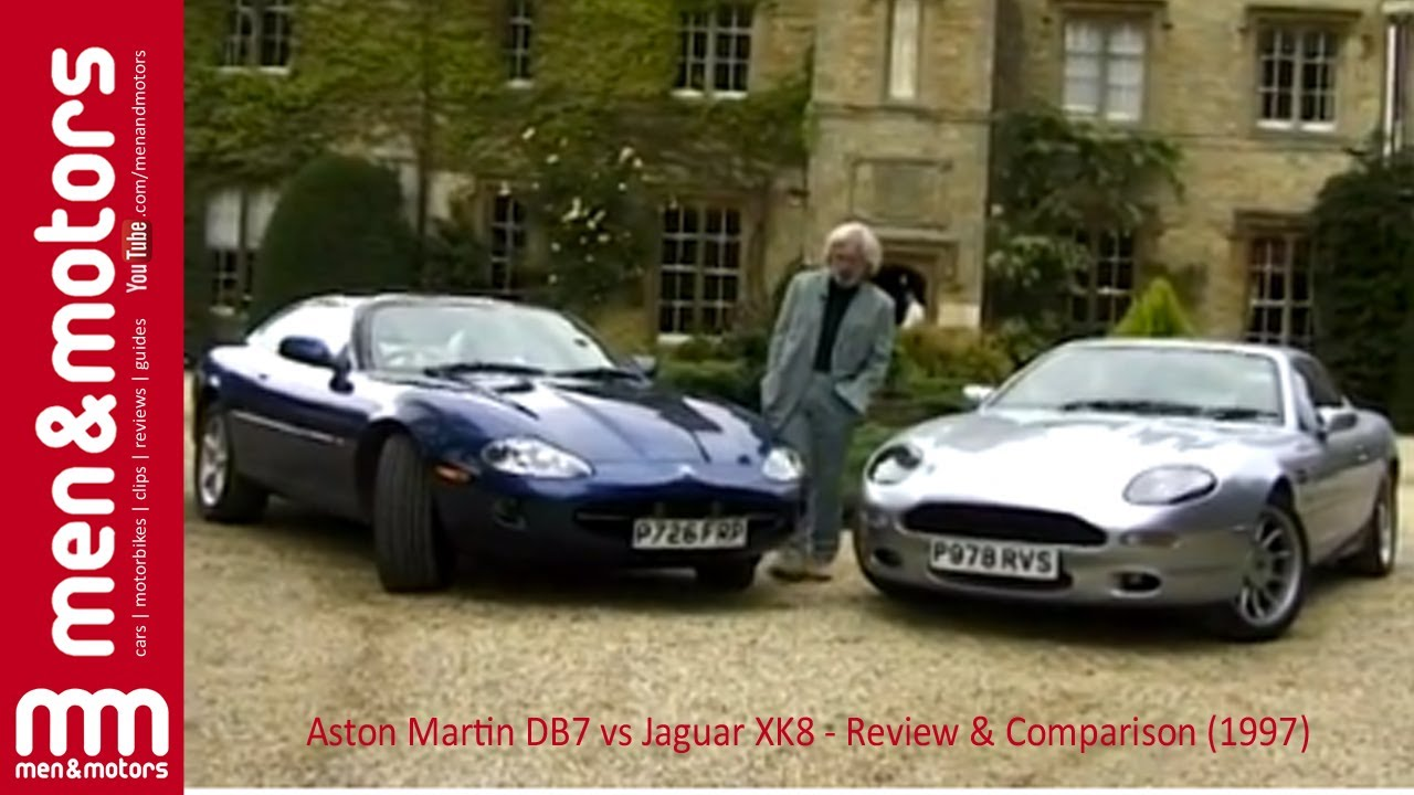 Aston Martin DB7 vs Jaguar XK8 - Review & Comparison (1997)