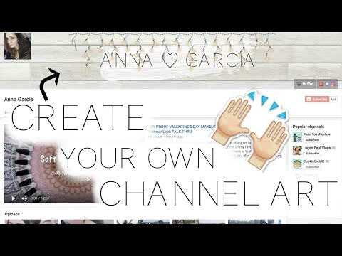 How To Make A YouTube Banner / Channel Art Using PicMonkey!