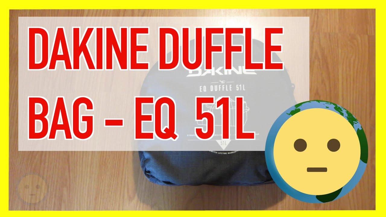 Dakine Duffle Bag EQ 51 Liter TSA Carry-On Luggage Size   Messenger Duffel  Backpack  7d0dcbf2c3203