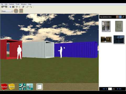 Shipping Container House Design Software - Tutorial 1