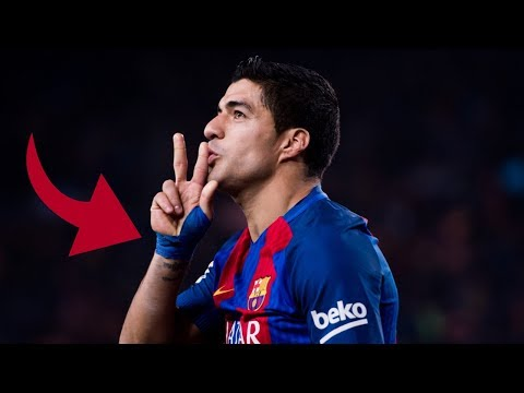 Why does Luis Suarez keep a wrist-guard while playing on the pitch? - Oh My Goal
