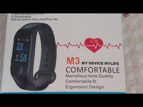 Smartband M3 - Relógio Cardíaco Inteligente