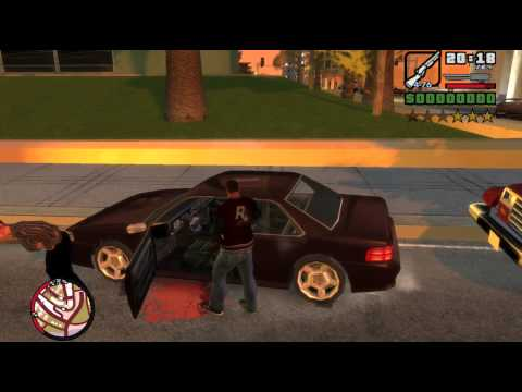 GTA IV:SA Beta 3 Gameplay 1/2