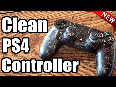 How to CLEAN your PS4 Controller | (BEST METHOD)