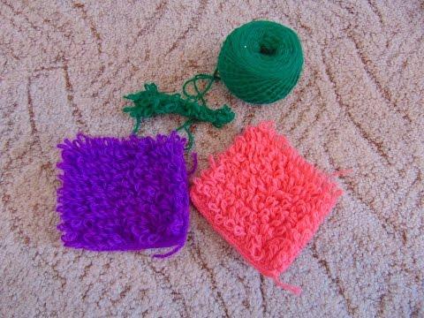 Вытянутые петли (Букле) вязание крючком