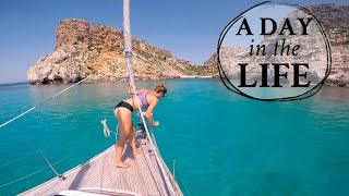 BOAT LIFE | boat tour and a day in the life | ALTERNATIVE LIFESTYLE thumbnail