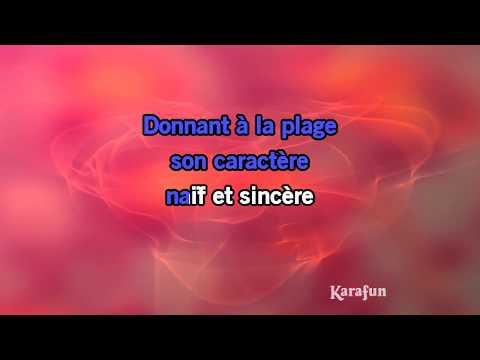 Karaoké Le baiser - Alain Souchon *
