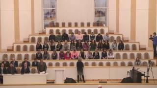 Велики и чудны дела Твои / Песня(Песня - Велики и чудны дела Твои Исполняет молодёжный хор церкви