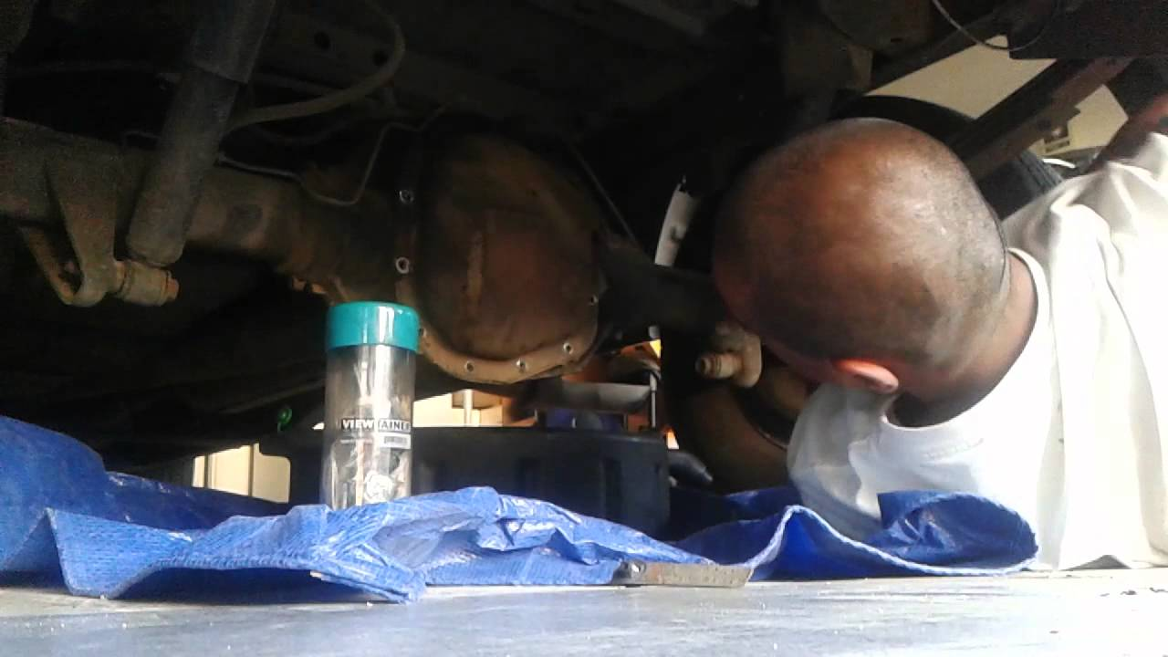 ford f250 rear differential oil