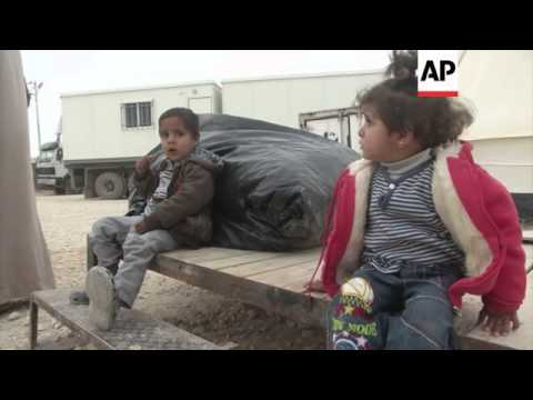 Syrian refugee tent transformed into dress