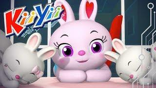 Sleeping Bunnies | Nursery Rhymes | By KiiYii!