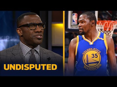 'KD doesn't get it': Shannon Sharpe strongly disagrees how KD handles the media | NBA | UNDISPUTED
