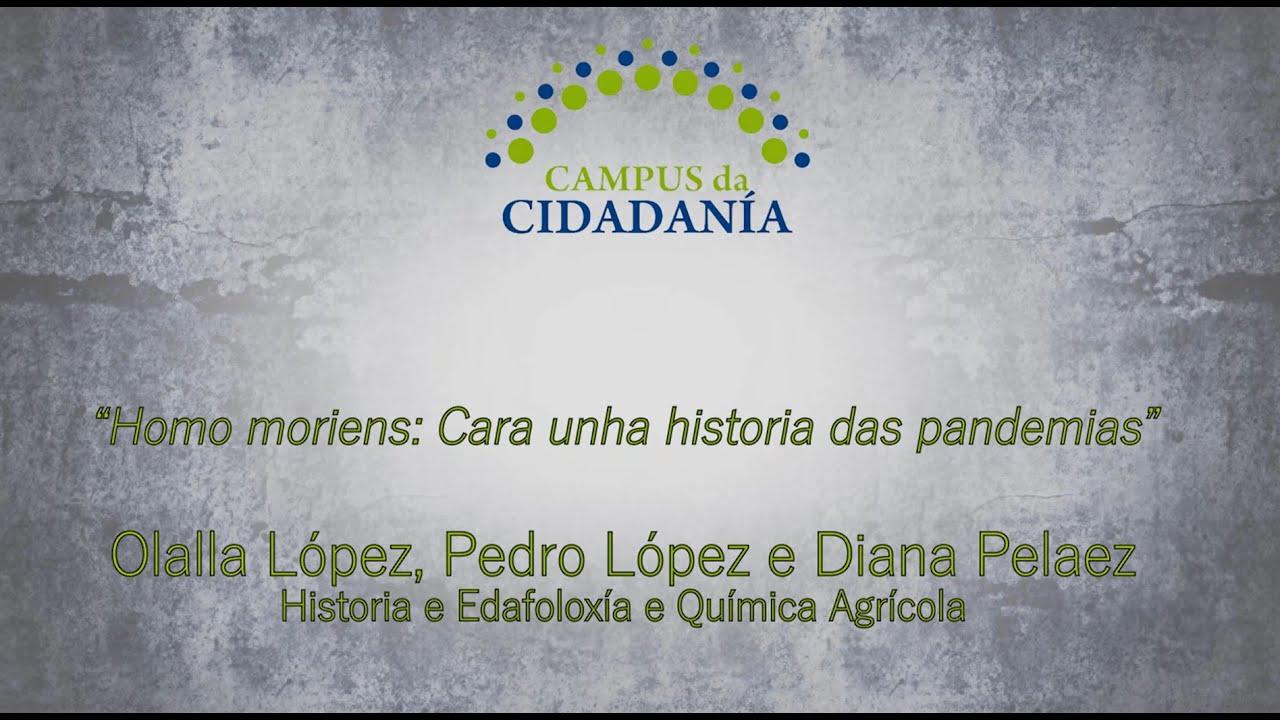 Homo moriens: Cara unha historia das pandemias