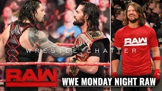 Roman Claims Universal Title WWE Monday Night Raw, April 15, 2019 Highlights WWE Raw 04//15/19