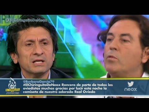 El tenso cara a cara entre Pipi Estrada y José Félix Díaz por Ancelotti