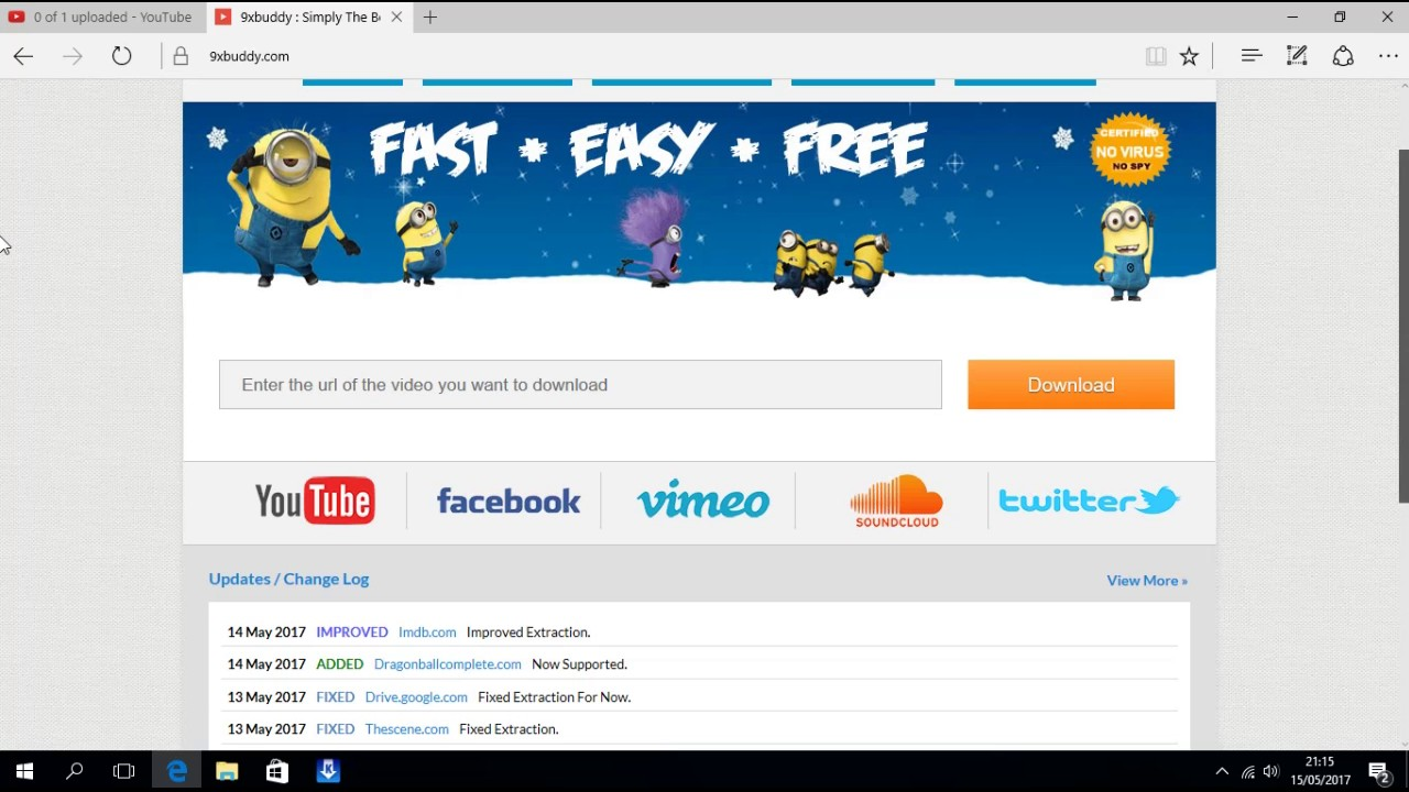 How to download any video from any web site including youtube using 9x  buddy very easy in urdu