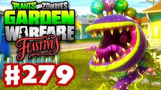 Plants vs. Zombies: Garden Warfare - Gameplay Walkthrough Part 279 - Feastivus Ornament Array! (PC)