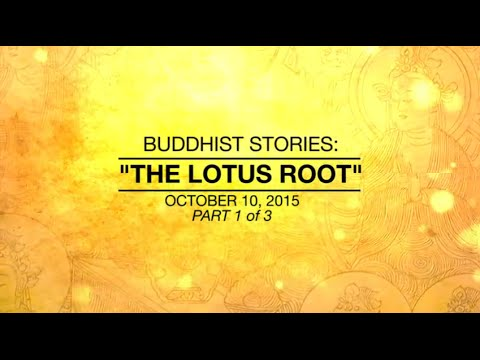 BUDDHIST STORIES: THE LOTUS ROOT - PART1/3 - Oct 10, 2015