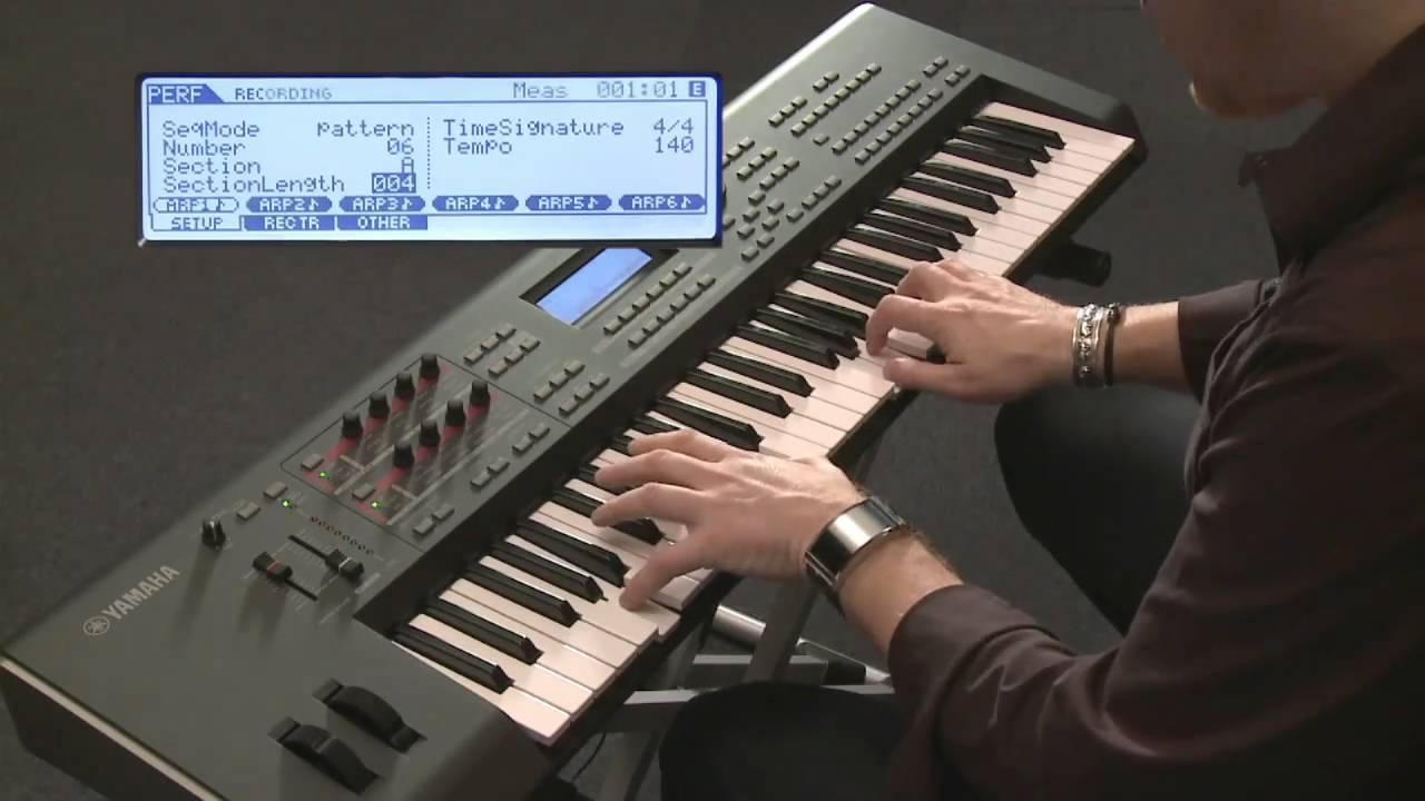 Yamaha MOX6/MOX8- Direct Performance Recording