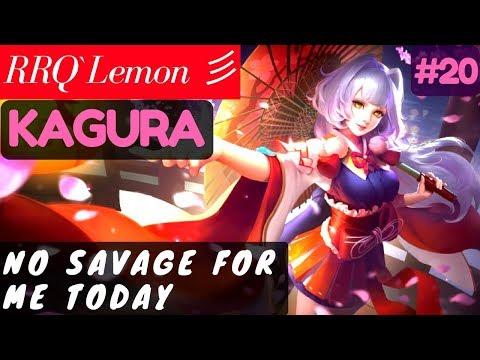 No Savage For Me Today [Rank 1 Kagura] | RRQ`Lemon 彡 Kagura Gameplay and Build #20 Mobile Legends