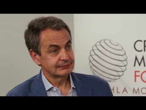 Interview of Mr. José Luis Rodriguez Zapatero - Crans Montana Forum in Dakhla