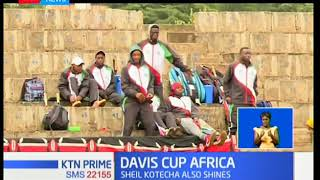 Kenyans shine in first day of the Davis Cup