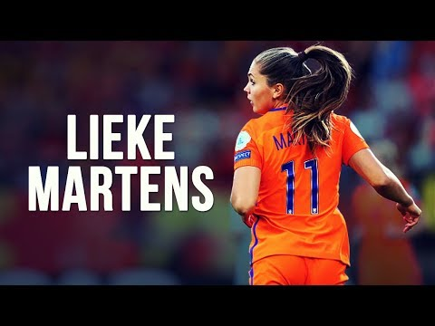 Lieke Martens - Messi In Women's Football | EURO 2017 HD