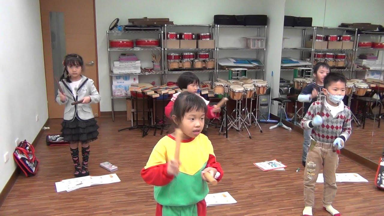 20141202 幼兒音樂律動 八分休止符節奏練習 (百分音樂學苑 ─ 臺南 音樂教室) - YouTube