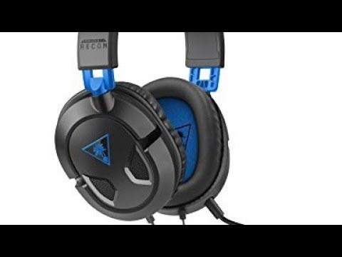 Turtle Beach Recon 50P Headset REVIEW And UNBOXING