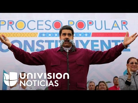 Nicolás Maduro responde a sanciones impuestas por Washington al supremo venezolano