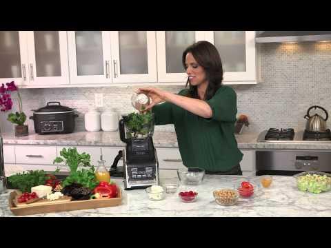 Rachel Beller and Ninja® Kitchen Chop Chop Salad Recipe using Nutri Ninja® with Auto-iQ™
