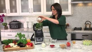 Rachel Beller And Ninja® Kitchen - Chop Chop Salad Recipe Using Nutri Ninja® With Auto-iq™