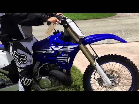 2018 YZ250 Brand New First Ride
