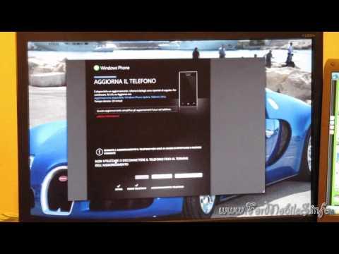 Samsung Omnia 7 - focus aggiornamento sw alla versione 7.0.7008 con Zune