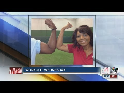 Will Shields offers Cynthia Newsome workout advice