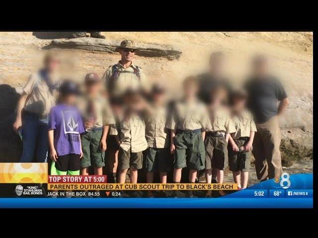 scouts Nudist boy