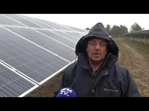 Les habitants de ce village ont financé leur propre centrale solaire, une première en France