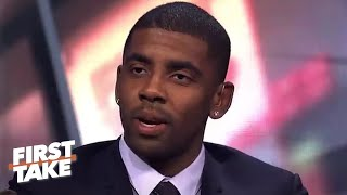 [FULL] Kyrie Irving on leaving the Cavs, LeBron James and the Boston Celtics | First Take