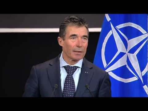 NATO Secretary General - Monthly Press Conference, 18 March 2013, part 1/2