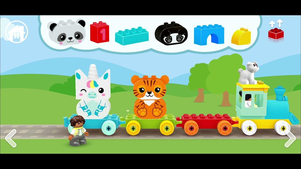 LEGO® DUPLO® WORLD - Number Train