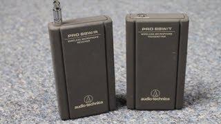 Audio Technica Pro 88w VHF transmitter Review - DSLR FILM NOOB