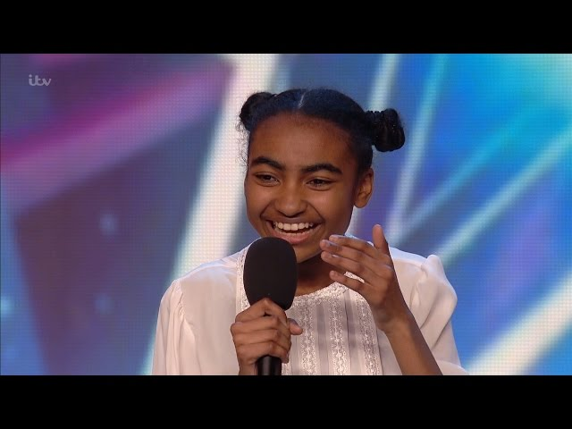 Jasmine Elcock - Britains Got Talent 2016 Audition week 4