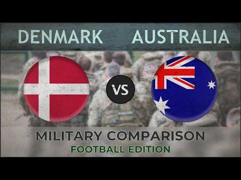 DANIMARCA vs AUSTRALIA - Confronto Militare